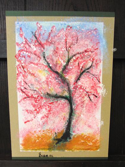絵画 ~ 桜屏風 ~_e0222340_15511280.jpg
