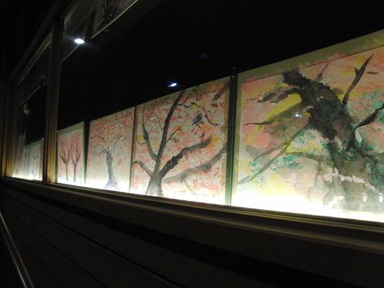 絵画 ~ 桜屏風 ~_e0222340_19421431.jpg