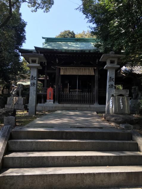 警固散歩 小烏神社  salala 4月のサロン空き状況_f0140145_09461853.jpg