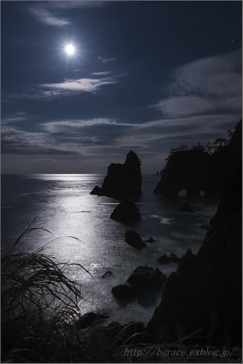 月光の北山崎_b0191074_21365052.jpg