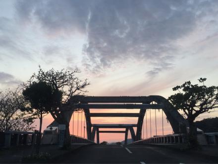 古仁屋港の夕景_e0028387_19084922.jpg
