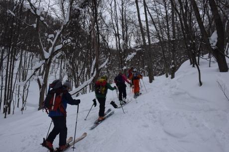 2017年1月22日塩谷丸山岳を滑る_c0242406_18444864.jpg