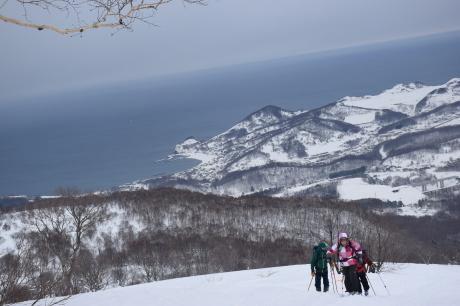 2017年1月22日塩谷丸山岳を滑る_c0242406_18473166.jpg