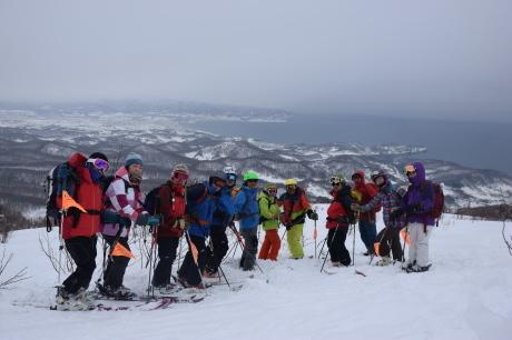 2017年1月22日塩谷丸山岳を滑る_c0242406_18482198.jpg