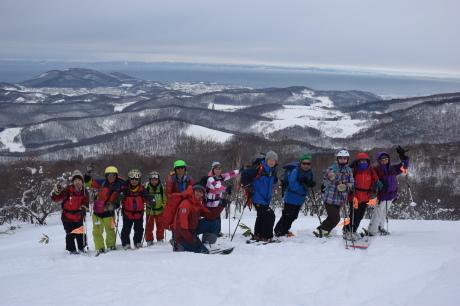 2017年1月22日塩谷丸山岳を滑る_c0242406_18493138.jpg