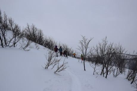 2017年1月22日塩谷丸山岳を滑る_c0242406_18510630.jpg