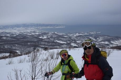 2017年1月22日塩谷丸山岳を滑る_c0242406_18522765.jpg