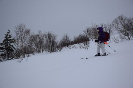 2017年1月22日塩谷丸山岳を滑る_c0242406_18550810.jpg