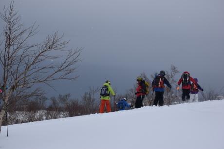 2017年1月22日塩谷丸山岳を滑る_c0242406_18564579.jpg