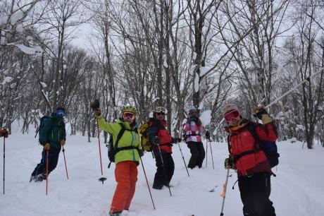 2017年1月22日塩谷丸山岳を滑る_c0242406_18571991.jpg