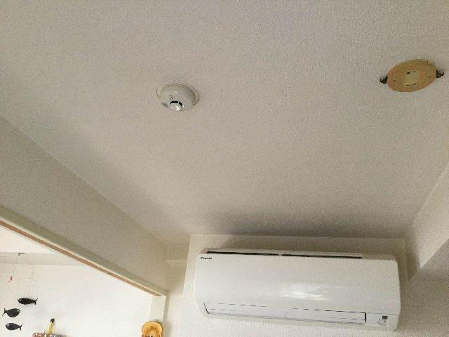 火災警報器設置のための・・・_f0031037_20401148.jpg