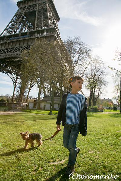 コパリオ君のいとこ。懐かしのちびっこにパリで再会デート♪_c0024345_05491583.jpg