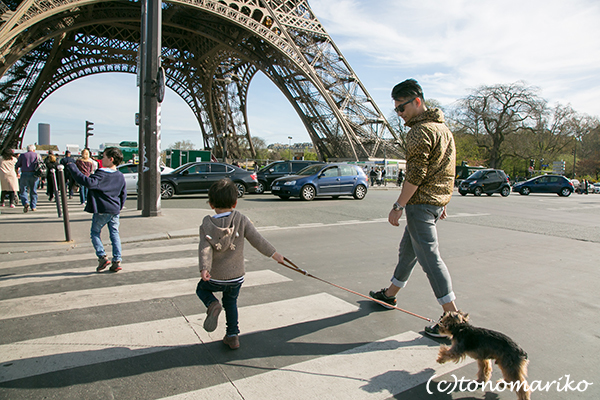 コパリオ君のいとこ。懐かしのちびっこにパリで再会デート♪_c0024345_05491589.jpg