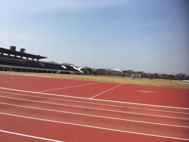 川越運動公園陸上競技場!間もなくオープンです!!_d0165682_13423972.jpg