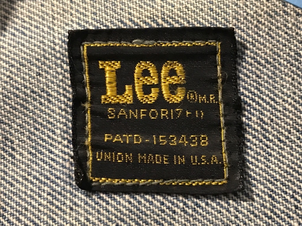 神戸店4/1(土)スーペリア入荷!#4 Levi\'s,Lee  Denim Item!Vintage White Shirt!!!_c0078587_17210293.jpg