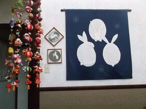 チオノドクサ&我が家の吊るし飾り_f0019498_17373878.jpg