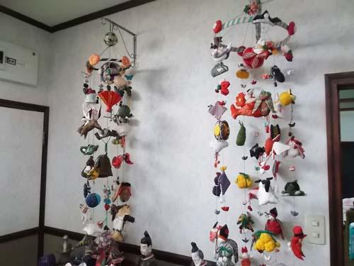 チオノドクサ&我が家の吊るし飾り_f0019498_17401199.jpg