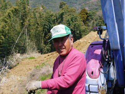 山鹿のみかん 社方園 山を開いて新たなみかんの果樹を植える!夢を追う匠の話!(その1)_a0254656_19113314.jpg