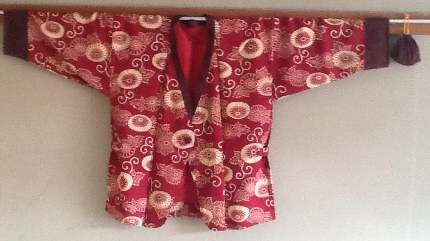 羽織のリフォームから_e0090670_19531365.jpg