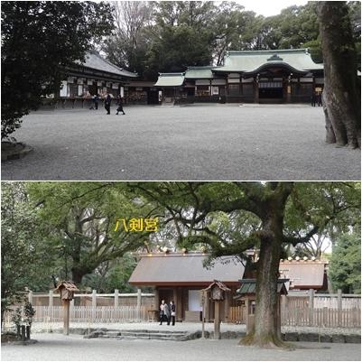 熱田神宮と名古屋城_a0084343_14432373.jpg