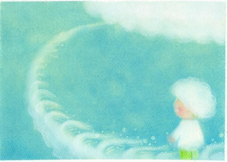 絵本~「雲からの贈りもの」P9~P10_f0183846_09140533.jpg