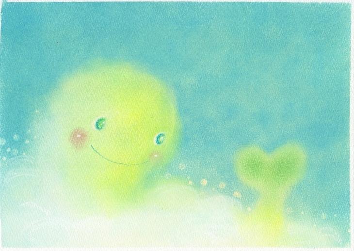 絵本~「雲からの贈りもの」P11~P12_f0183846_09144655.jpg