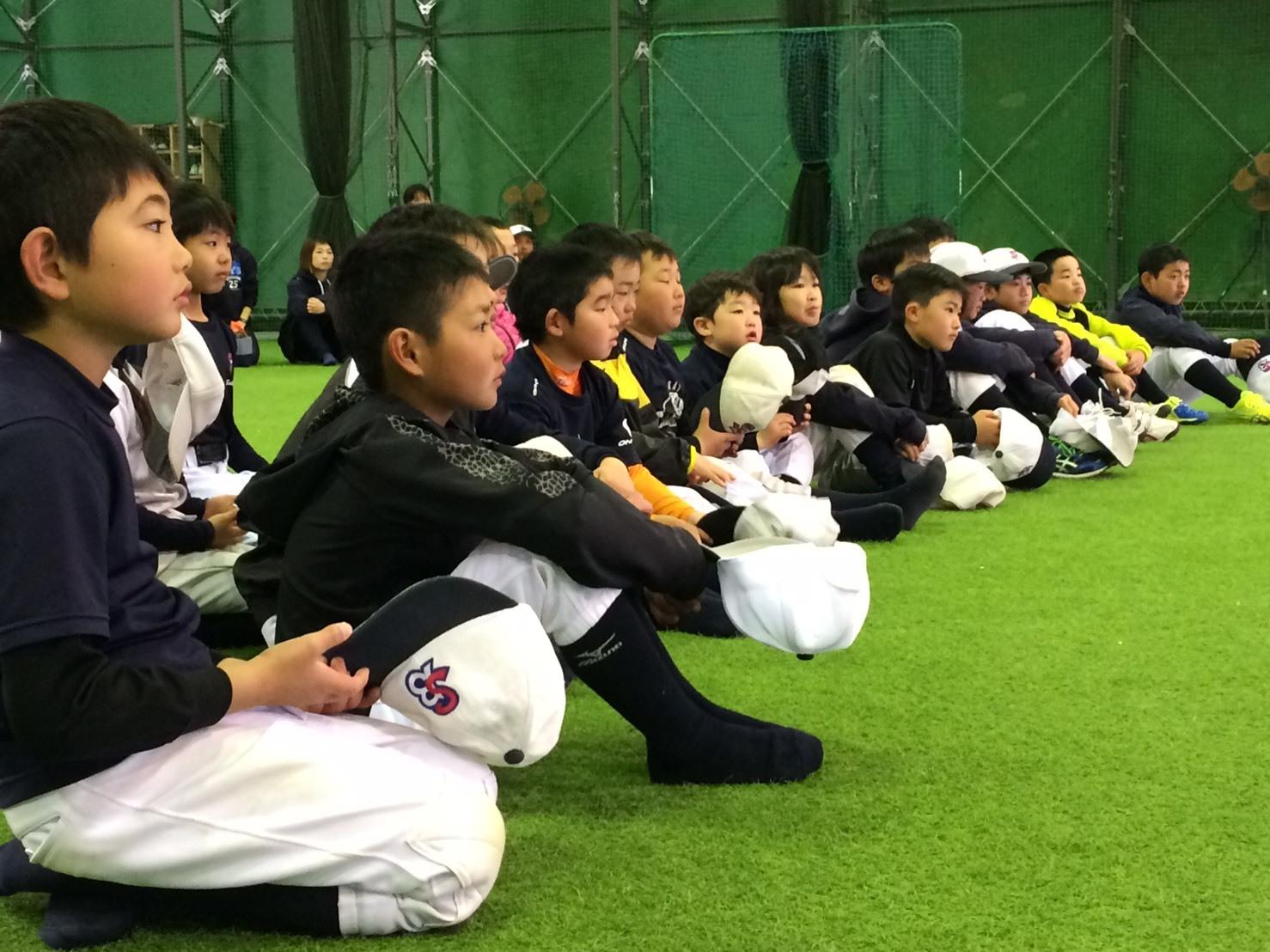 小学6年生の卒団式!小学部_f0209300_19454677.jpg