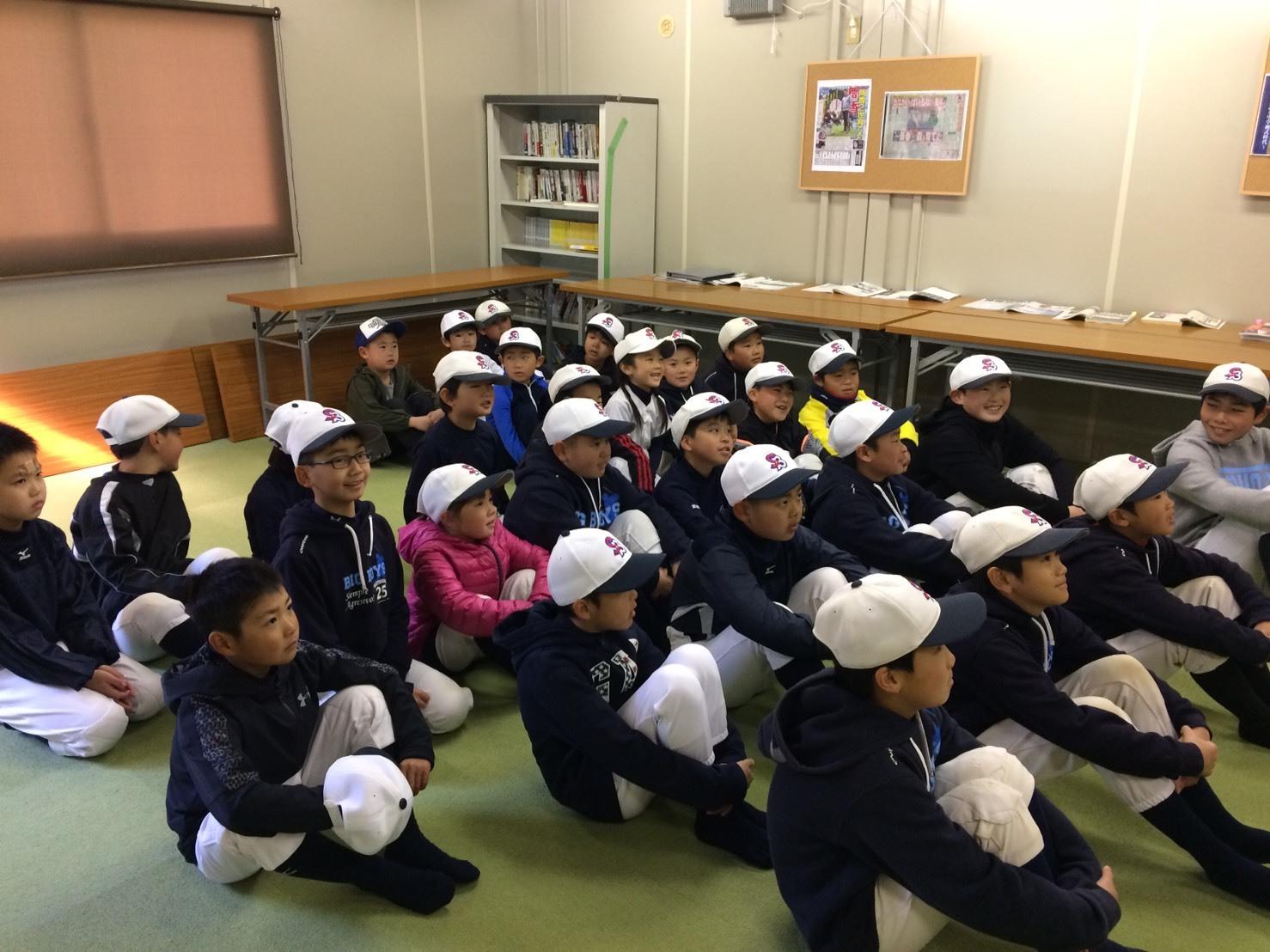 小学6年生の卒団式!小学部_f0209300_19492080.jpg