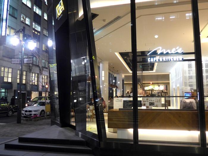 銀座「Me\'s CAFE & KITCHEN」へ行く。_f0232060_17164198.jpg
