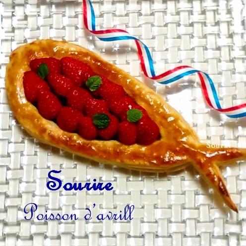 【フランスの風習】4月の魚~Poisson d\'Avril(ポワソンダブリル)~手作りパイ菓子_c0350941_19503397.jpg