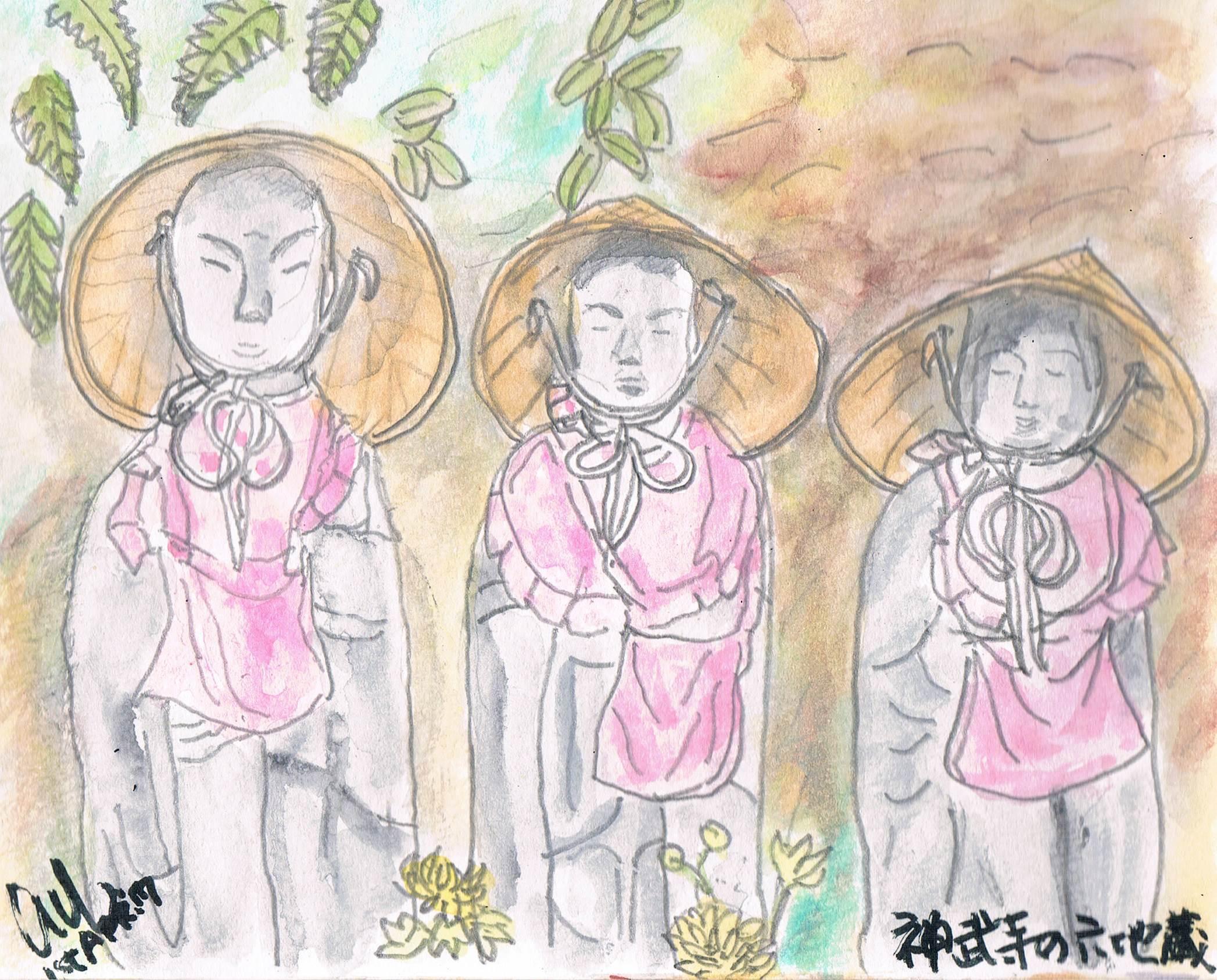 横須賀・神武寺の六地蔵_e0232277_21364658.jpg