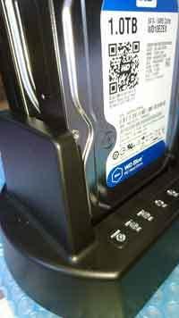 福岡市早良区:不良セクタをスキップしながらHDDコピーの画像