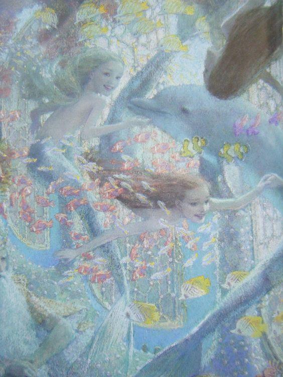 Christian Birmingham画の人魚姫_c0084183_16105589.jpg