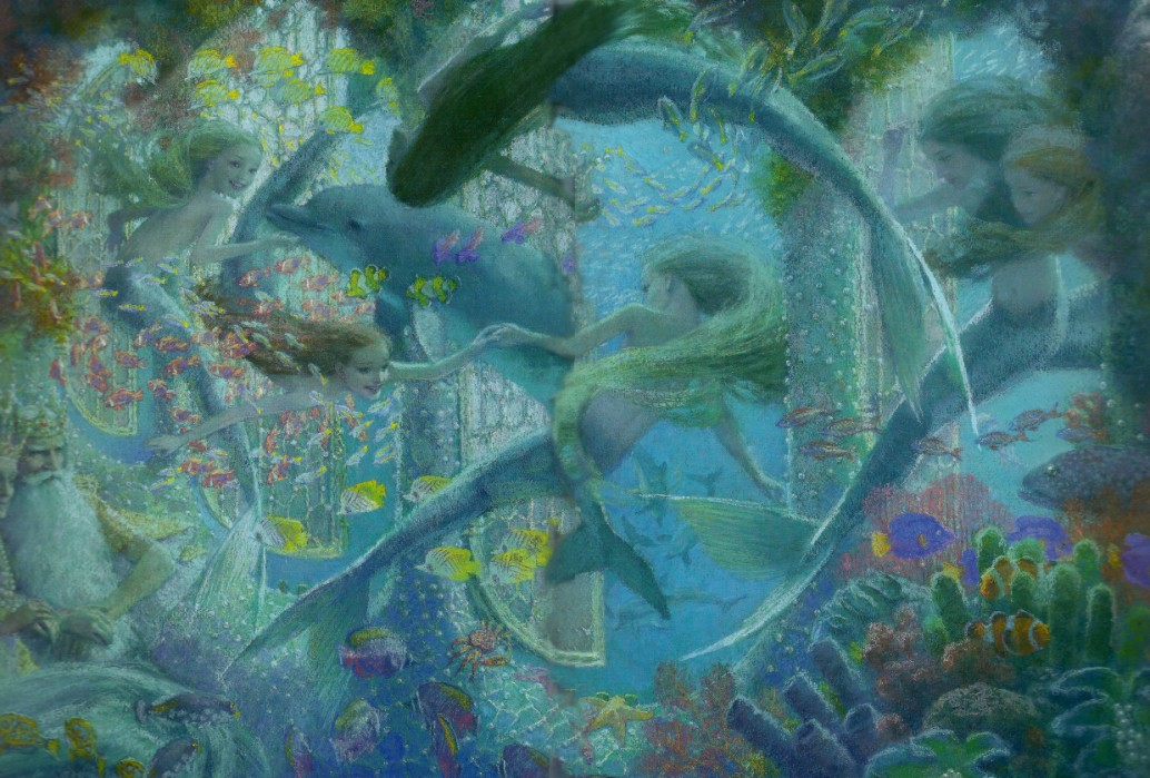 Christian Birmingham画の人魚姫_c0084183_16214847.jpg