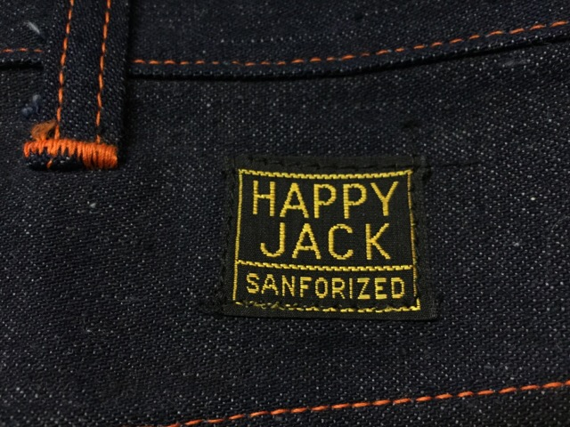 "4月5日(水)大阪店ヴィンテージ入荷!#2 Work編!!NOS 50\'s ""HAPPY JACK\""Vintage Denim Painter!!_c0078587_12444589.jpg"