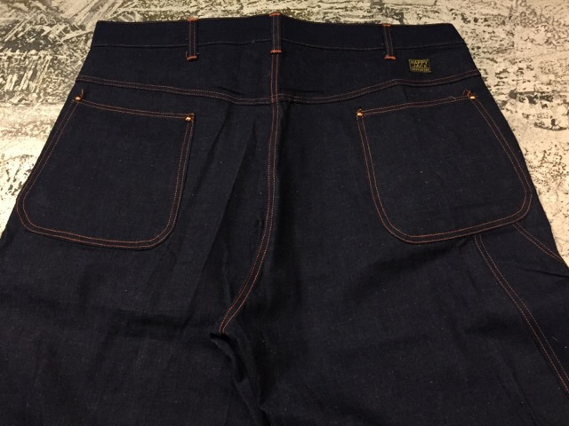 "4月5日(水)大阪店ヴィンテージ入荷!#2 Work編!!NOS 50\'s ""HAPPY JACK\""Vintage Denim Painter!!_c0078587_12494524.jpg"