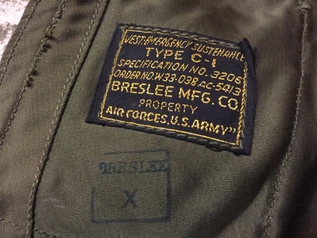 4月5日(水)大阪店ヴィンテージ入荷!#3 Military編!!40\'s U.S.A.A.F C-1 VEST!!_c0078587_213144.jpg