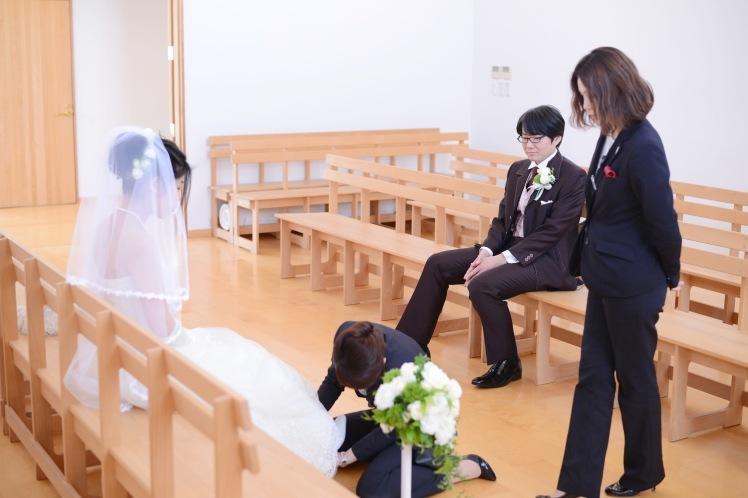 ウェディングフォト!S&A~裸足の花嫁~_e0120789_22560309.jpg