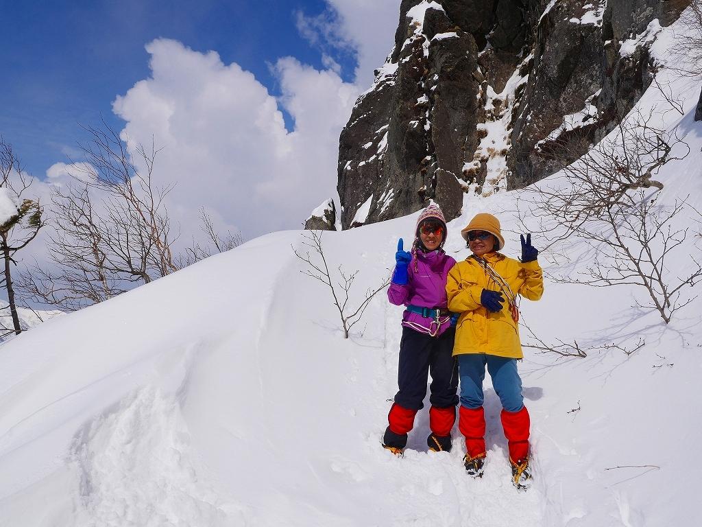 恵庭岳で驚きの出会い、2017.4.2_f0138096_08531968.jpg