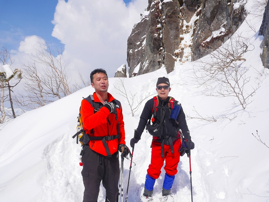 恵庭岳で驚きの出会い、2017.4.2_f0138096_08552987.jpg