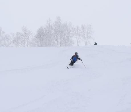 2017年1月21日朝里岳を滑る -1_c0242406_08522424.jpg