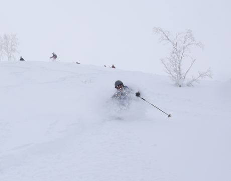2017年1月21日朝里岳を滑る -1_c0242406_08543199.jpg