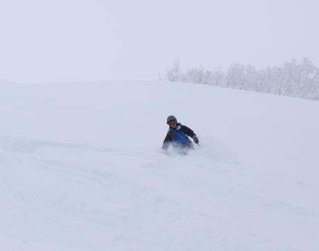 2017年1月21日朝里岳を滑る -1_c0242406_08550571.jpg