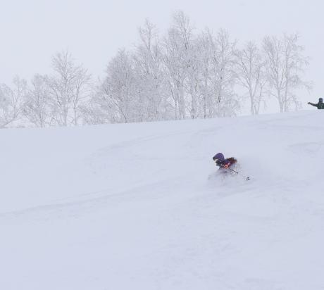 2017年1月21日朝里岳を滑る -1_c0242406_08555153.jpg
