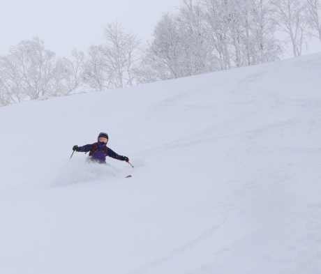 2017年1月21日朝里岳を滑る -1_c0242406_08561461.jpg