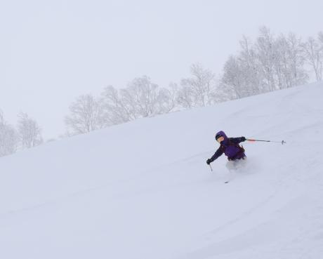 2017年1月21日朝里岳を滑る -1_c0242406_08563707.jpg