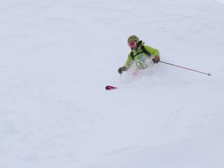 2017年1月21日朝里岳を滑る -1_c0242406_08574442.jpg