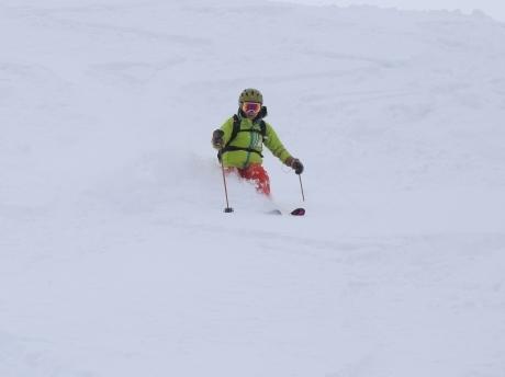2017年1月21日朝里岳を滑る -1_c0242406_08580854.jpg