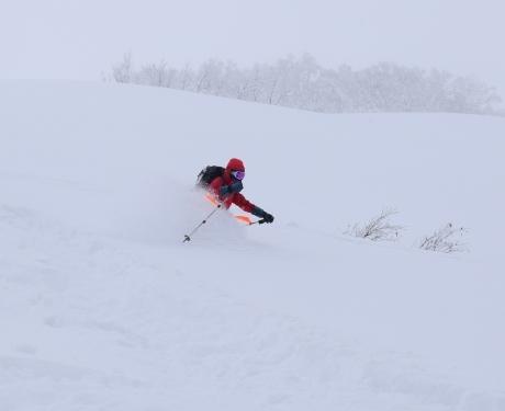 2017年1月21日朝里岳を滑る -1_c0242406_08584460.jpg