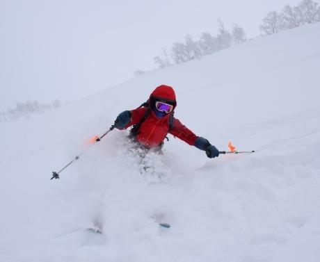 2017年1月21日朝里岳を滑る -1_c0242406_08593348.jpg